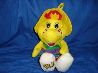 barney s friend b j tub toy 1996 playskool hasbro