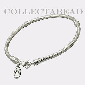 Newly listed Authentic Pandora Silver Bracelet with Lobster Lock 7.1