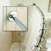 Home Improvement  Plumbing & Fixtures  Shower Curtain Rods