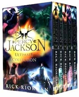 Percy Jackson Ultimate Collection Rick Riordan 5 Books Box Set Pack