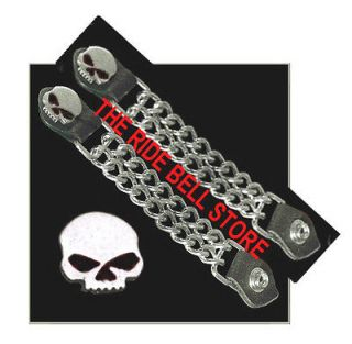 Newly listed 2 Willie G BLACK EYED SKULL MOTORCYCLE VEST Extender