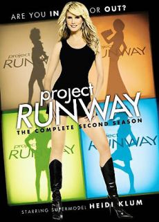 Project Runway   The Complete Second Season DVD, 2006, 3 Disc Set