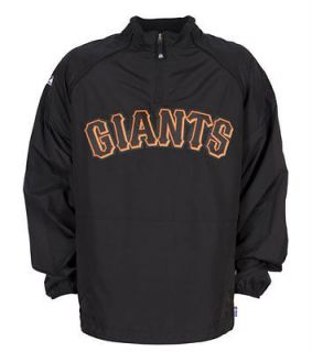 newly listed san francisco giants authentic gamer jacket 5x time