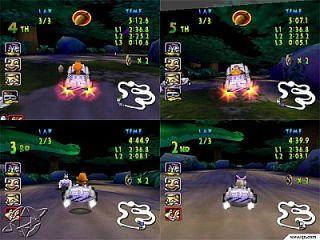 Walt Disney World Magical Racing Tour Sega Dreamcast, 2000