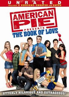 American Pie Presents The Book of Love DVD, 2009, Rated Unrated