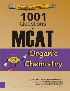 Examkrackers 1001 MCAT Organic Chemistry Vol. 2 2001, Paperback