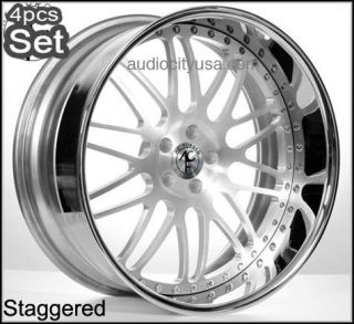 20 AC Forged for Mercedes Benz Audi Wheels Rims 3Pc Forged