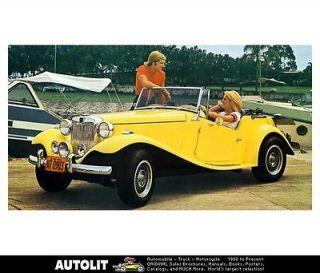 1952 1975 mg td mp lafer vw kit car factory