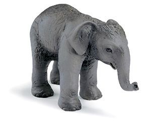 NEW* SCHLEICH 14343 Indian Elephan Calf   World of Wild Life