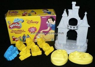 PLAY DOH DISNEY PRINCESS SNOW WHITE & BEAUTY AND THE BEAST MOLDS