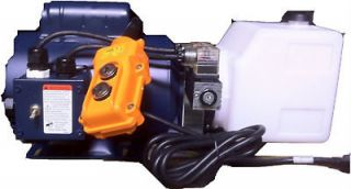 Double Acting Hydraulic Pump for Tube Bender 115V AC Electric Unit
