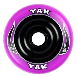 Newly listed YAK SCAT Purple/Blk 100mm Wheel Razor Ultra Pro Scooters