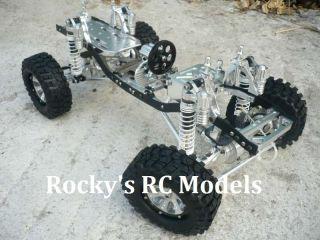 Metal Electric 110 Scale RC Remote Control ROCK CRAWLER MRC10 SCX10