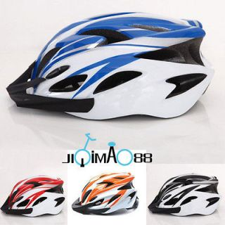 NEW CYCLING BICYCLE HERO BIKE HELMET White with Visor Four Colours
