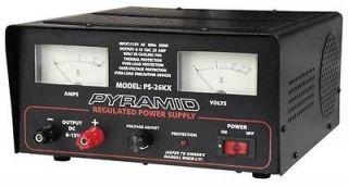 new pyramid 25 amp 6v 15vdc regulated power supply time