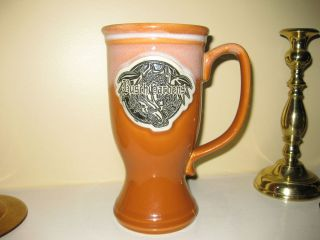 Busch Gardens Williamsburg Drachen Fire Large Mug RARE Great Condition