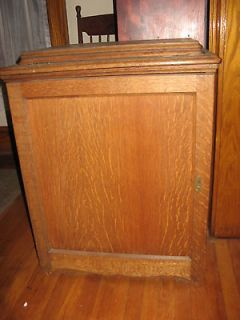 singer sewing machine oak built in covered cabinet #66 black book