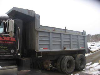 15 foot Beau Roc dump truck body box bed Beauroc ft  dumptruck