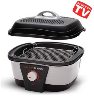 Wonder Cooker™ by Chef Tony   6 in 1   Non stick Cooker