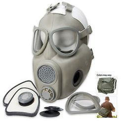 Military Surplus Czech M10M Gas Mask with Filters