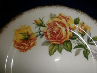 ROYAL STANDARD FINE BONE CHINA WITH ROMANY ROSE 8 DESSERT PLATE