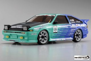 Kyosho Mini Z AWD Formula D Toyota AE86 Radio Controlled Car