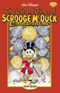 Times of Scrooge Mcduck Companion by Don Rosa 2006, Paperback