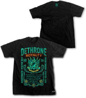 dethrone royalty call to arms black t shirt new more