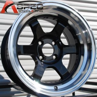 15x8 rota grid v wheels 4x114 3 rim 0mm royal