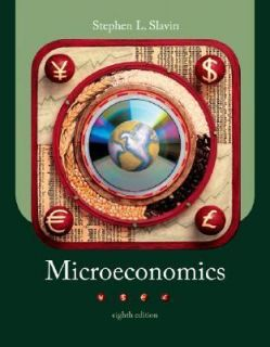 Microeconomics by Stephen L. Slavin 2006, Paperback, Revised