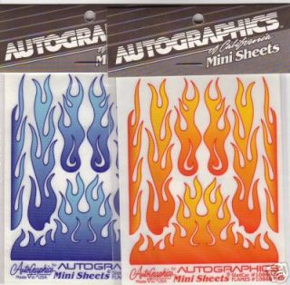 autographics 10869 blue slot car flames red has sold out