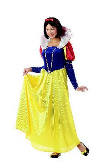 snow white adult costume size large
