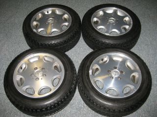 /55R16 Winter 210 Performance Snow Tires & Mercedes 16x8 Alloy Wheels