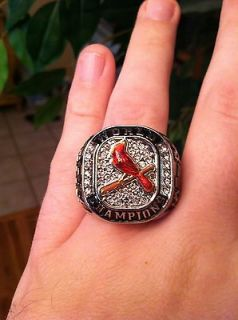 New 2011 Saint Louis Cardinals Wearable World Series Championship