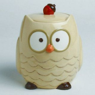 cute owl cookie jar time left $ 34 95 buy