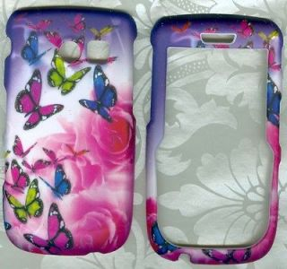 butterfly snap on case Samsung SCH R375C straight Talk Phone Cover