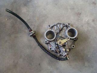 93? SKI DOO FORMULA PLUS 521 rotary valve intake plate manifold rotax