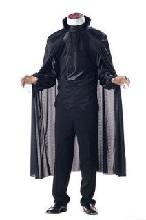 Brand New Classic Horror Headless Horseman Men Adult Costume