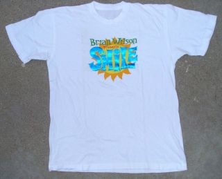Brian Wilson Presents SMILE 2005 Sept 4th Hollywood Bowl Tee Shirt by
