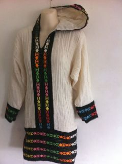 ethiopian traditional embroidered women tops with hood