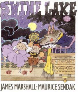 Swine Lake by Marshall and James Marshall 1999, Hardcover