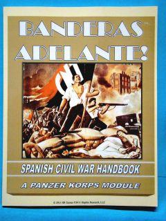 Banderas Adelante Spanish Civil War Game Handbook   A Panzer Korps