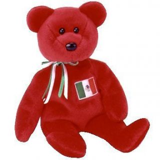 TY Beanie Baby   OSITO the Mexician Bear (USA Exclusive) (8.5 inch
