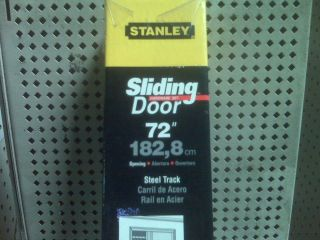 stanley sliding door hardware set 72 inch 40 3160 time