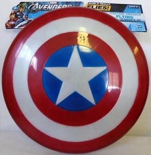 CAPTAIN AMERICA FLYING SHIELD Marvel The Avengers Movie Roleplay 2012