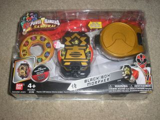 new saban s power rangers samurai black box morpher bandai