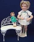 Porcelain Little Miss Shirley Danbury Mint Shirley Temple Doll In