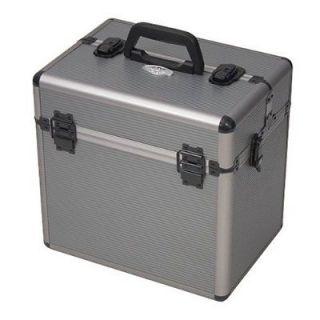 ADG Aluminum Two Pistol Gun Range Box Travel Case Snap Locks Airline