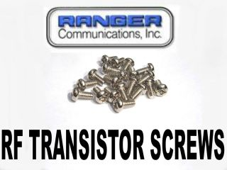 2950DX RCI 2970DX RCI 2970N2 RCI 2995DX RF AMP TRANSISTOR SCREW SET