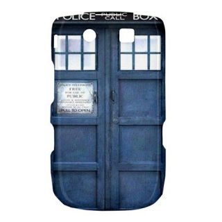 New Blue Police Call Box Dr. Who TARDIS Blackberry BB Torch 9800 9810